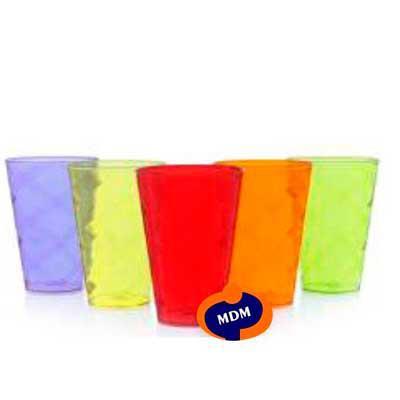 MDM Brindes - Copo twister de acrílico 550 ml fabricado em PS cristal  super resistente com detalhe espiral. Disponível em diversas cores. Personalizado em Silk.