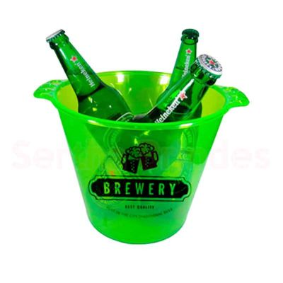 Sertha Brindes - Balde de Gelo 5 litros Verde - Silk