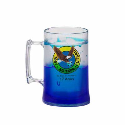 Sertha Brindes - Caneca Gel - Azul