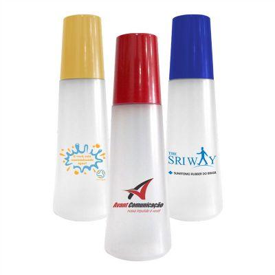 Sertha Brindes - Moringa plástica 1 Litro com copo 250ml - Gravação em Silkscreen