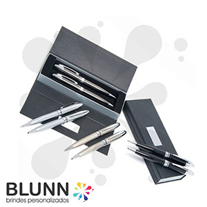 blunn - Conjunto de caneta e lapiseira