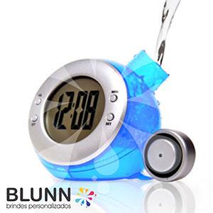 Blunn - Relógio ecológico de plástico resistente, movido à água