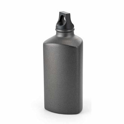 Blunn - Lindo squeeze de alumínio 600ml na cor chumbo personalizado e tampa em plástico. Temos outros modelos disponíveis - Consultar. Gravação a laser ou tam...