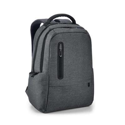 Blunn - Mochila para notebook personalizado.  Nylon 2Tone impermeável. Com 2 compartimentos. Compartimento posterior forrado, com bolso interior com zíper e d...