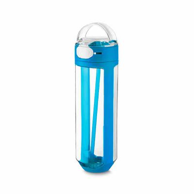 Brindez Brindes Promocionais - Garrafa plástica 770 ml com trava emborrachado