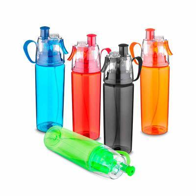 Brindez - Brindes Promocionais - Squeeze Plástico Borrifador 700ml Brilhante