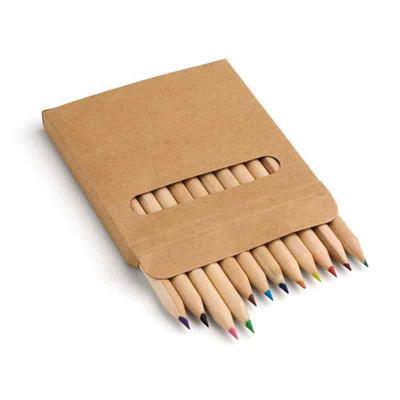 Brindez - Brindes Promocionais - Caixa com lápis de cor