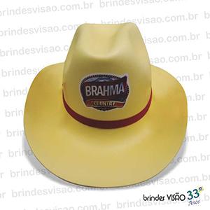 f18a62dc39c8c Brindes Visão - O Rei do E.V.A. - Chapéu modelo Cowboy em E.V.A. diversas  cores