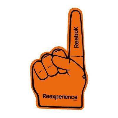 Mão número 1 para torcida, eventos e comemorações em geral, em E.V.A.