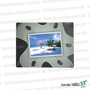 Brindes Visão - O Rei do E.V.A. - Mouse Pad com espaço para o cliente colocar sua foto preferida