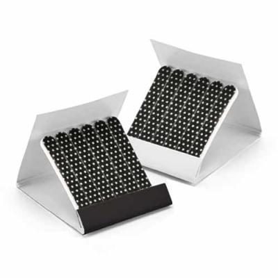Ewox Promocional - Kit de 6 lixas. Em caixa de cartão. 55 x 61 x 6 mm