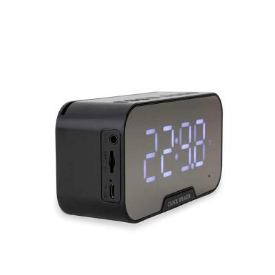 EWOX Promocional - Caixa de Som Multimídia com Relógio e Suporte para Celular