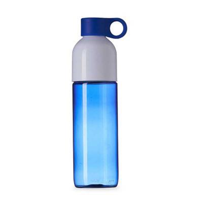 EWOX Promocional - Squeeze plástico 700ml com tampa de suporte anelar. Squeeze colorido, possui tampa rosqueável na cor branca; devido sua largura facilita a higienizaçã...