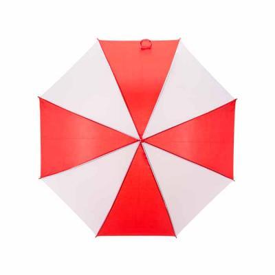 Ewox Promocional - Guarda-chuva colorido com detalhes branco e tecido de nylon, basta acionar o botão inferior para abertura automática.   brinde personalizado, brinde p...