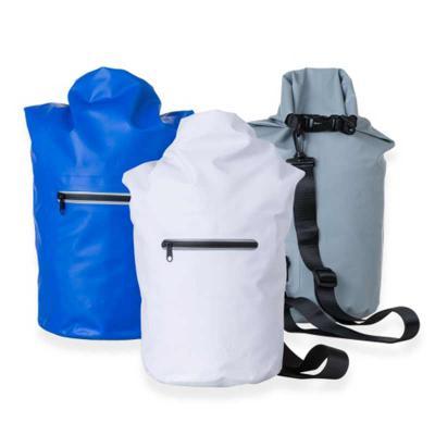 Ewox Promocional - Mochila saco 10 litros à prova d´água. Material confeccionado em lona, possui costura soldada resistente, lacre dobrável, alça ajustável para costa(re...