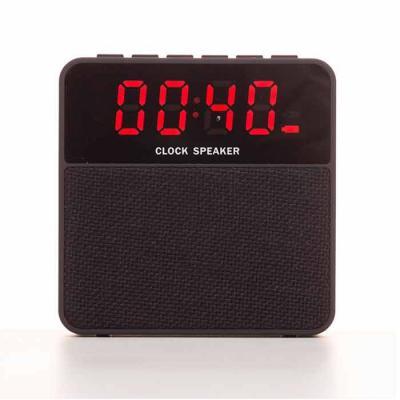 EWOX Promocional - Caixa de Som Bluetooth com Relógio Digital