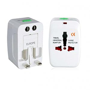 EWOX Promocional - Adaptador de tomada compatível com todos padrões internacionais.