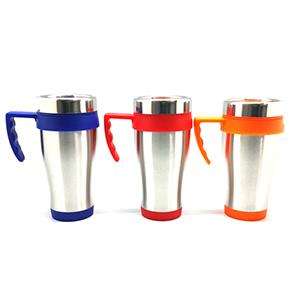 EWOX Promocional - Caneca térmica em inox com capacidade para 400 ml.