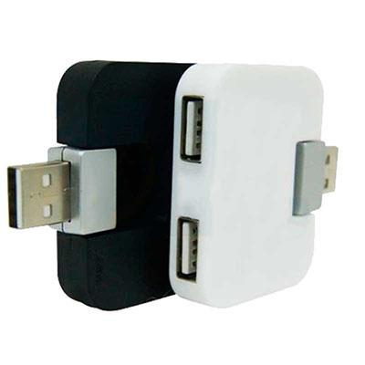Ewox Promocional - Hub USB com 4 entradas, material com plástico resistente Gravação em tampografia com uma cor. Quantidade Mínima 100 unidades por pedido Uma ótima opçã...
