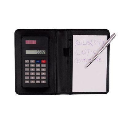 EWOX Promocional - Calculadora com Porta Bloco de Anotações