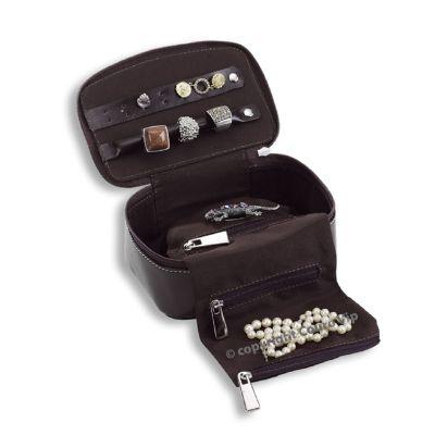 Couro Vip - Porta-jóias em couro.