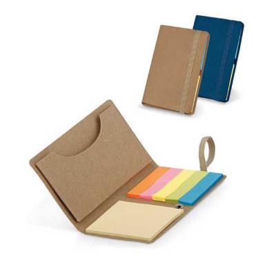 BrindeShop - Caderno Cartão com 6 blocos sticky notes 22 folhas cada