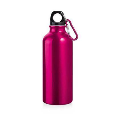 BrindeShop - Squeeze Alumínio com mosquetão 500 ml