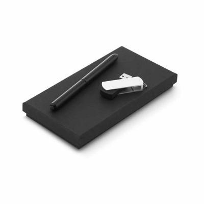 Arena Brindes Personalizados - Conjunto esferográfica e pen drive