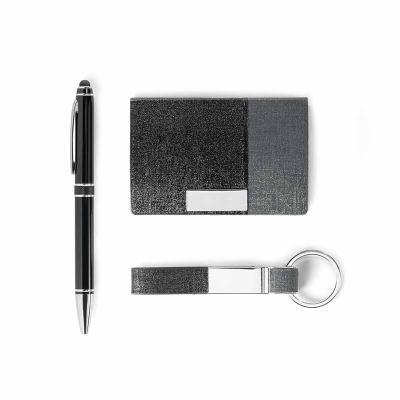 Arena Brindes Personalizados - kit porta cartões e chaveiro