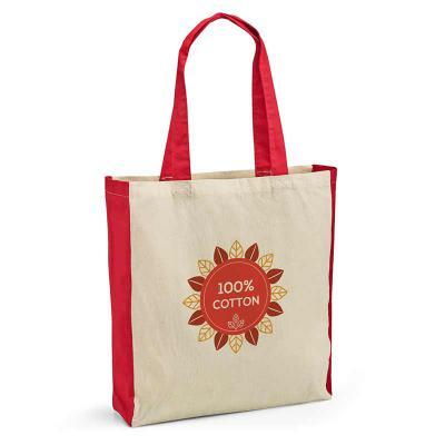 Seleta Brindes - Sacola. 100% algodão: 140 g/m². Alças de 65 cm. 370 x 410 x 100 mm