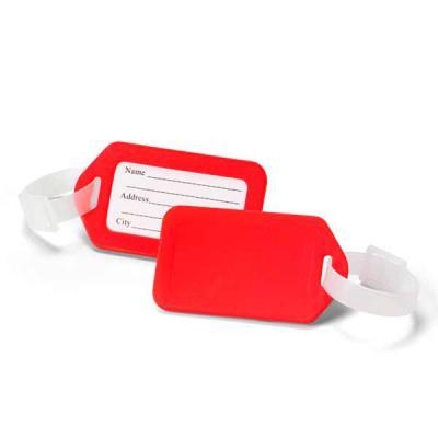 Seleta Brindes - Identificador de bagagem. PP. Ideal para malas de viagem. 87 x 50 x 4 mm