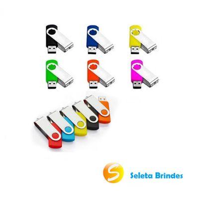Seleta Brindes - Pen drive 4 gb com diversas cores.