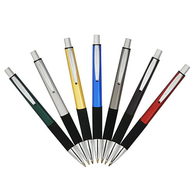 Luxus Comercial - Caneta quadrada de metal, diversas cores