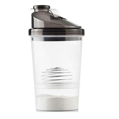 Luxus Comercial - Coqueteleira Mix de plastico PP, com recipiente e mola