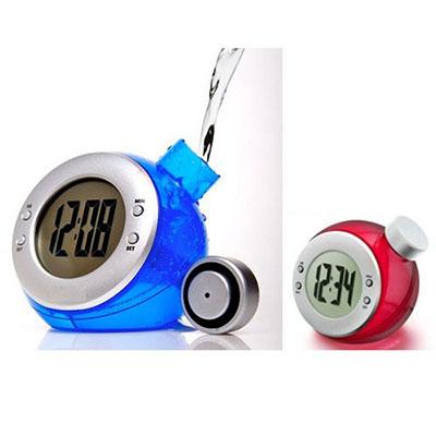 Luxus Comercial - Relógio plástico ecológico, movido a água