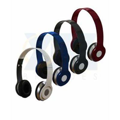 RF Canetas e Brindes - Fone de ouvido stereo HD, dobrável. Gravação silk screen, resina