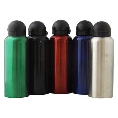 RF Canetas e Brindes - Squeeze em alumínio. Capacidade 500 ml, tampa de plástico
