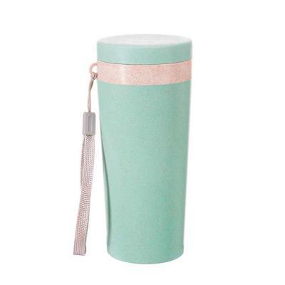 Amora Brindes - Copo Térmico de Fibra de Bambu de 350 ml