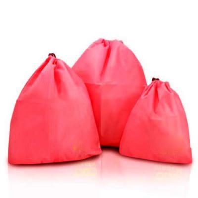 amora-brindes - Organizador de mala, em forma de saquinho, produto impermeável, disponível em diversas cores de tecido, contem 3 peças, produto promocional, totalment...