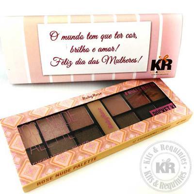 Kits & Requintes - Kit de sombras Ruby Rose personalizado.