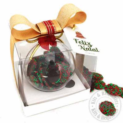 Kits & Requintes - Bola de Natal com Dragees
