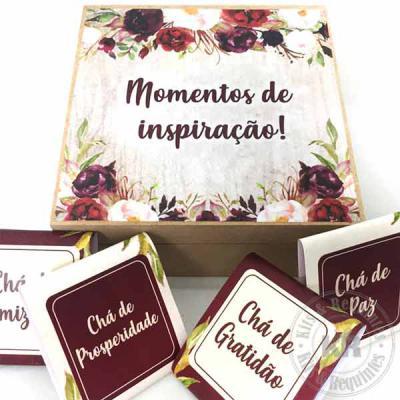 Kits & Requintes - Caixa chá 4 desejos