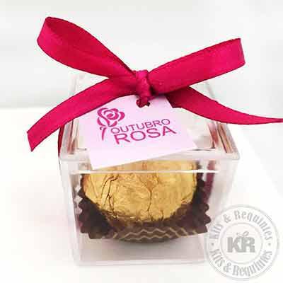 kits-e-requintes - Bombom Ferrero Rocher em caixa acrílica