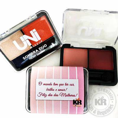 Kits & Requintes - Kit de sombras Ruby Rose personalizado. Ótima opção de brinde para o Dia das Mulheres ou dia das mães!