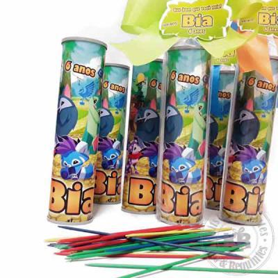 Kits & Requintes - Pega varetas personalizado, acompanha embalagem celofane, fita e tag, kit dia das crianças, dia das crianças, jogos, brinquedo