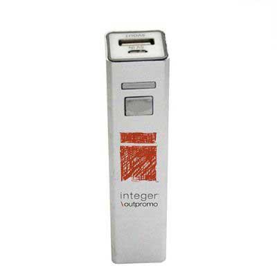Ablaze Brindes - Carregador portátil personalizado