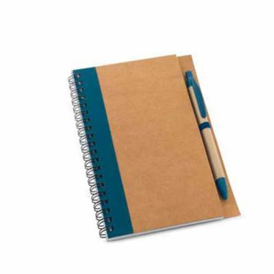 Ablaze Brindes - Caderno ecológico com Caneta