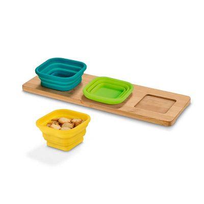 Link Promocional - Base de mesa com 3 potes