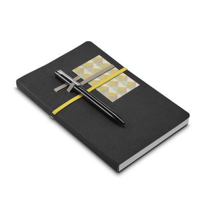 Link Promocional - Caderno de couro sintético com 96 folhs nao pautadas