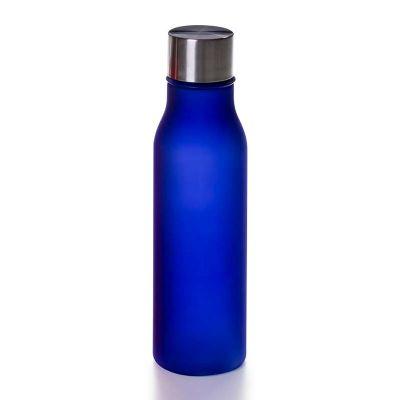 Link Promocional - Fabricado em Tritan / BPA free, corpo translucido Azul,  tampa cromada, capacidade 500ml. O Tritan é um material à base de copoliéster, sendo o materi...